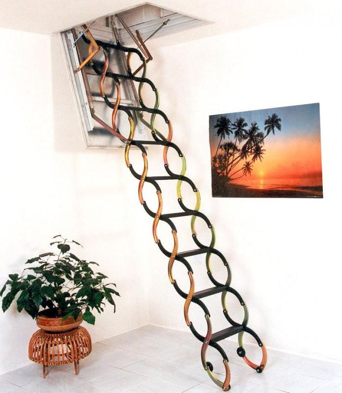 самостоятельная установка лестниц